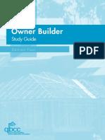Owner Builder Study Guide