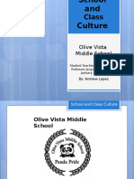 olive vista school and classroom culture