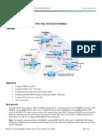 CCNPv7 ROUTE Lab7-4 IBGP-EBGP-Synchronization Student