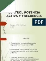 Control Potencia Activa y Frecuencia