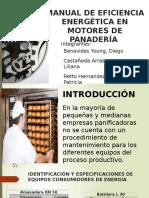 Manual de Eficiencia Energética en Motores de Una Panadería