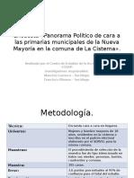 Encuesta «Panorama Político de Cara a Las (1)