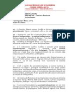 01. TA-I - Primeiro Bimestre - Respostas - Constitucional