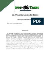 Williams, Tennessee - Un Tranvia Llamado Deseo.doc