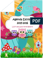 Agenda Escolar 2015 .... Casi Terminada