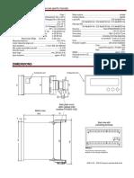 Panel Cutout - Woodward SPM D10 Synchronizer