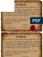 ARLS TEMPLÁRIOS DE UBERABA N°324 - GLMMG- INICIAÇÃO AOS 14 DIAS DO MÊS DE MAIO DE 2016 DA E .`. V .`.