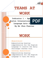 Teams at Work