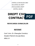 Referat Civil Donații (2)