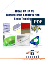 GURUCAD CATIA V5 Mechanische Konstruktion Basis Training De