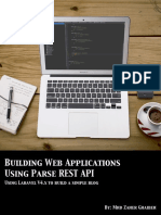 Building Web Applications Using Parse Rest API