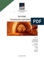Informe Final Tronadura Subterranea