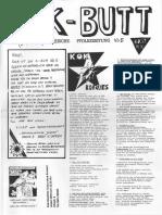 K-BUTT. Välzische Pfolxzeitung. Nr. 5 (1993)