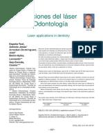 1.Aplicaciones Del Láser en Odontología