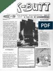 K-BUTT. Välzische Pfolxzeitung. Nr. 6 (1993)