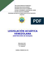 Definicion de Un Buque Segun La Legislacion Acuatica Venezolana.