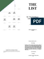 Dettlinger -- The List