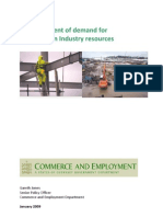 Construction Industry Demand Assesment