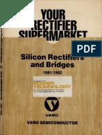 VaroSemiconductorSiliconRectifiersAndBridges1981-82