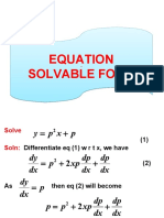 Eqs. Solvable for y