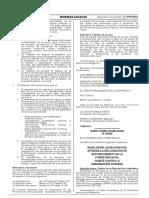 Resolución Legislativa que reconoce la competencia del Comité contra la Desaparición Forzada de la ONU
