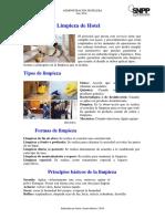 Limpieza de Hotel - PDF