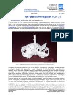SparView Laser Scanning for Forensic Investigation