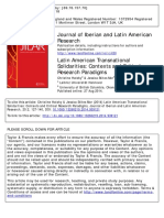 Latin American Transnational Solidaritie