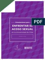 Enfrentar El Acoso Sexual en La Universidad de Chile