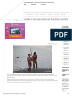 Tribo Indígena Isolada é Massacrada Na América Do Sul _ HypeScience