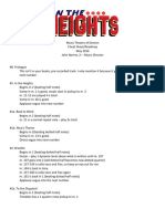 In the Heights Cut List-roadmap
