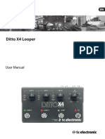 Ditto X4 Looper Manual