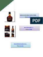 Trabajo de Ron y Whisky Editado