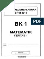 Soalan Trial SPM 2015 Mathematics Terengganu (1)