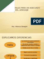 Escuela Desarrollo Del Lenguaje