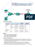 11.2.2.6 Lab - Configuring Dynamic and Static NAT.docx