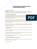 Causas y Efectos de La Disminución de La Edad de Imputabilidad Penal Sobre Adolescentes en Conflicto Con La Ley