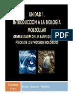 CLASE 1 - Introducción_aspectos Fisico-quimicos de Los Seres Vivos