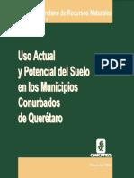 Uso Actual y Potencial Del Suelo en Los Municipios Conurbados de Querétaro.