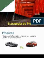 Tema 2 Estrategias de Producto
