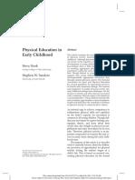 La Educación Física en Educación Infantil
