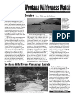 Ventana Wilderness Watch Newsletter, Fall 2006 ~ Ventana Wilderness Alliance