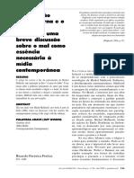 Ricardo Ferreira Freitas - A Subversão Pós-moderna e o Diabólico Maffesoli