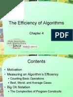 Chapter04-EffeciencyOfAlgorithms