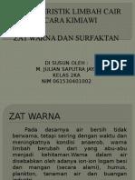 M.julian Saputra(Zat Warna Dan Surfaktan)