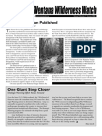 Ventana Wilderness Watch Newsletter, Summer 2004 ~ Ventana Wilderness Alliance