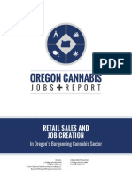 Oregon Cannabis Jobs Report