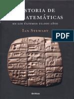 Historia de Las Matemáticas en Los Últimos 10000 Años - Ian Stewart