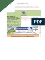 PROGRAMA DE LICENCIATURA EN EDUCACIÒN  INFANTIL