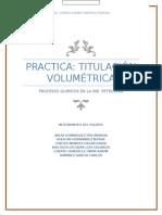 Practica Titulación Volumétrica